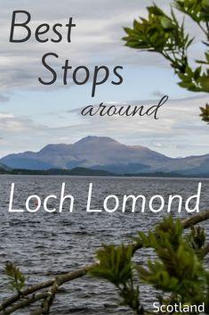 Views of Loch Lomond Scotland - Balloch Castle