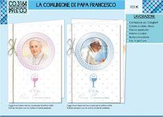 BIGLIETTI COMUNIONE PAPA FRANCESCO CO3164
