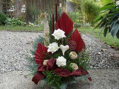 Ikebana, Floral Arrangements, Christmas Diy, Centerpieces, Deco, Flowers, Plants, Ebay, Flower Arrangements