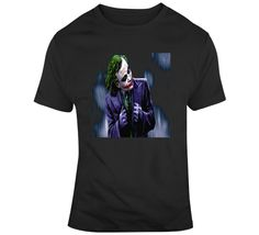 The Joker The Dark Knight  T Shirt Movie T Shirts, Dark Knight, Gifts For Friends, The Darkest, Shirt Style, Joker, Mens Tops, Movies, Cotton
