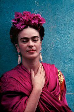 Nickolas Muray - Frida with Picasso Earrings   1stdibs.com
