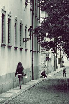 The incoming girl Black White Photos, Black And White, Free Black, Public Domain, Street, Black N White, Black White, Walkway