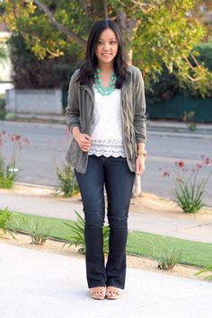 Utility Jacket Outfit Ideas for Spring (Putting Me Together)