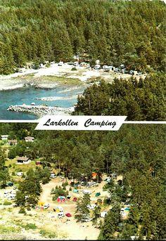 Østfold fylke Moss kommune Larkollen Camping 1970-tallet