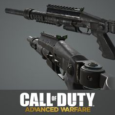 Advanced Warfare: Bulldog Shotgun, Ethan Hiley on ArtStation at https://www.artstation.com/artwork/advanced-warfare-bulldog-shotgun