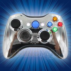 Chrome Blue Xbox 360 Modded Controller is a perfect gift for a special gamer in your life! Compatible games include MW3, Black Ops 2, MW2, GTA4, Battlefield 3, and many more. Gamingmodz.com specializes in custom xbox and ps3 controllers featuring rapid fire chips and custom designs. Hundreds of designs and thousands of options to choose from. Check us out at TODAY! Watch the video now: http://www.youtube.com/watch?v=rpS7ljgwEMg=share