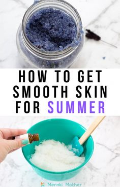 Make this relaxing, exfoliating DIY lavender sugar body scrub to get smooth summer skin. This great homemade recipe uses coconut oil and essential oils. #naturalskincare #skin #skincare #sugarscrub #bodyscrub #DIY #summer #homemade #ExfoliatingFaceScrub Diy Body Scrub, Face Scrub Homemade, Diy Scrub, Homemade Recipe, Homemade Soaps, Diy Peeling, Diy Beauty Treatments, Skin Treatments, Lavender Sugar Scrub