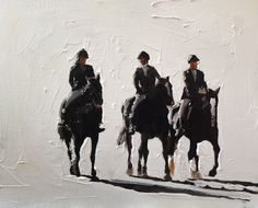 Horse Riders Painting Horse Art Horse PRINT Horse Riding Art Print - from original painting by J Coates Original Oil Painting or Print Cow Art, Horse Art, Canvas Art Prints, Canvas Wall Art, Sheep Art, Cow Painting, Horse Riding, New People, Pet Portraits