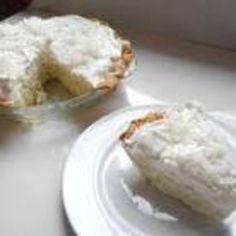 easy Cocnut Cream Pie