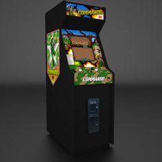 commando arcade game