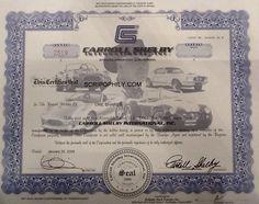 TA CARROLL SHELBY  famous special CAR