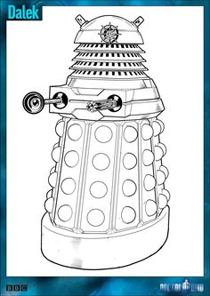 Official Doctor Who Tumblr - Doctor Who Colouring-In Packs aren't just for...
