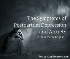 I remember feeling crazy with my first kid... Really scary crazy... Now with this one, I worry because I remember that feeling:  The Symptoms of Postpartum Depression and Anxiety -PostpartumProgress.com