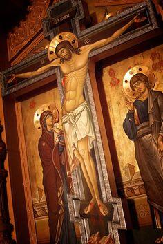 Greek Orthodox Cross Icon