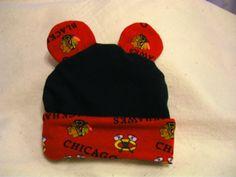 baby chicago blackhawks fan on Etsy, $10.00.. Too cute:)