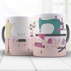 Ceramic Mugs, Ceramic Art, Barber Logo, Sewing Art, Cute Mugs, Ceramic Painting, Paint Designs, Fabric Patterns, Diy Art