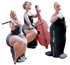 Plus Size Art: A look at the Plus Size Sculptures from Emilio Casarotto