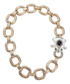 White & Goldtone Princess Charming Chain Necklace #zulily #zulilyfinds