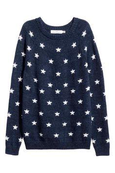 Pullover in Jacquardstrick | H&M