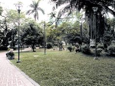 San Pio Park in Bucaramanga. Children's playing