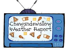After reading the book Cloudy With a Chance of Meatballs, give students to imagine themselves as weather forecasters! Students can use their imaginations to draw and write the food they would wish for if they lived in Chewandswallow. This includes a cover Kindergarten Science, Teaching Science, Teaching Reading, Teaching Ideas, School Age Activities, Literacy Activities, School Resources, Teaching Weather, Trade Books