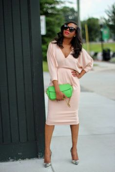 Blush tones: Awed by Monica