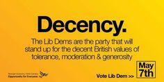 LibDems = Decency