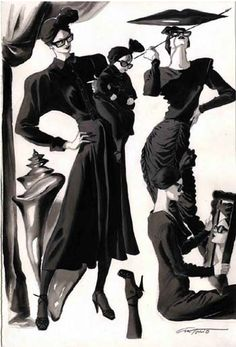 for Norma Kamali 1985. 80′s Vogue editorial...  The baby !