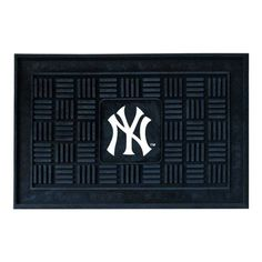 Fanmats MLB 18 x 30 in. Medallion Door Mat - 11307
