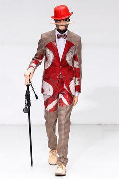 Walter Van Beirendonck Fall 2012 Menswear Fashion Show