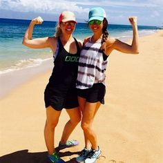 Our girls @stephfloratiu & @brynn_eliz representing in Hawaii! 🙌 #TIUflexfriday #TIUgirlstrip #TIUteam  TIUflexfriday,TIUgirlstrip,TIUteam Flex Friday, Female Fitness, Fitness Workouts, Our Girl, Fit Women, Hawaii, Running, Girls, Fashion