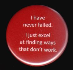This Button Is Not A Failure by kohaku16 on Etsy, $3.00