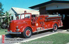 San Antonio Fire Department photos from 1976