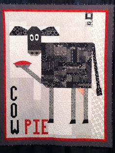 Houston quilt show 2013:  cow theme