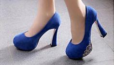 SL022-BL SIZE 35-39, HEELS-14 Wholesale Shoes, Pumps, Heels, Platform, Fashion, Heel, Moda, Fashion Styles, Pumps Heels