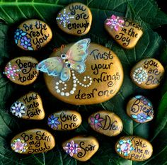 """Healing Expressions: Art Blessing Giveaway """"Soul Stones"""""""