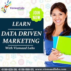 #VismaadLabs provide you #6Months #IT #IndustrialTraining in #DataDrivenMarketing come and Join us.  #DigitalMarketing (also known as data-driven marketing) is the marketing of products or services using digital #Technologies, mainly on the Internet, but also including mobile phones, display advertising, and any other digital medium.