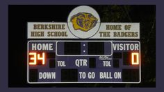 Berkshire Badgers shut out Fairport Skippers at their Homecoming game