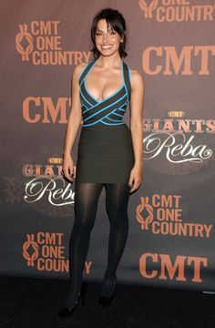 Sarah Shahi's High Heels ...XoXo   high in heels ...