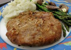 Onion Baked Pork Chops. I use 1 packet lipton golden onion soup mix.