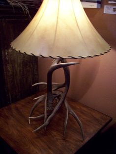 Mule Deer Antler Lamp | Little Bear Interiors. The Best Furniture Store In  Bozeman,