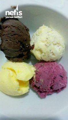 My Secret Recipe (Super Ice Cream) - Eat Recipes Turkish Recipes, Ethnic Recipes, Freeze, Parfait Recipes, Secret Recipe, Cake Shop, Ice Cream Recipes, Frozen Yogurt, Food Design