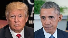 """Donald Trump's slogan may be """"Make America Great Again,"""" but President Obama today declared, """"America's pretty darn great right now."""" Though Obama made no mention of the Republican front-runner by name, his not-so-veiled swipe at Trump came as the president touted today's jobs report and accused..."""