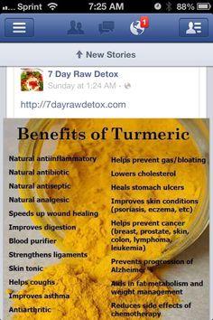 Benefits of Turmeric Powder. #TurmericPowder #Ginger #paleo #nutritious http://paleoaholic.com/