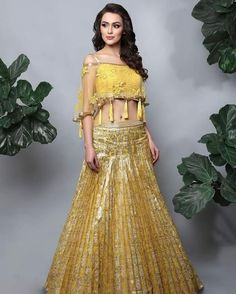 100 Latest Designer Wedding Lehenga Designs for Indian Bride LooksGud.in Blouse Lehenga, New Lehenga Choli, Lehenga Choli Online, Yellow Lehenga, Lehenga With Long Choli, Anarkali, Lehga Choli, Indowestern Lehenga, Lehenga Choli Wedding