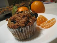 Blueberry Oat Bran Muffins | Foodie/Nutritionist