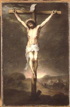 Christ on the cross, Bartolome Esteban Murillo, 1665