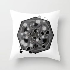https://society6.com/product/ace-of-spades-and-star-mandala_pillow?curator=hereswendy: Throw Pillow made from 100% spun polyester poplin fabric, a stylish statement that will liven up any room. Individually cut and sewn by hand, each pillow features a double-sided print and is finished with a concealed zipper for ease of care.  Sold with or without faux down pillow insert.