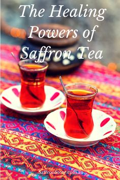 Saffron tea is known to have a number of health benefits. Here is just to name a few. #HealthBenefit #GreenTea
