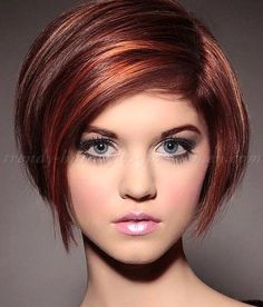 I like the roundness of this bob.  I wish I could see the back!